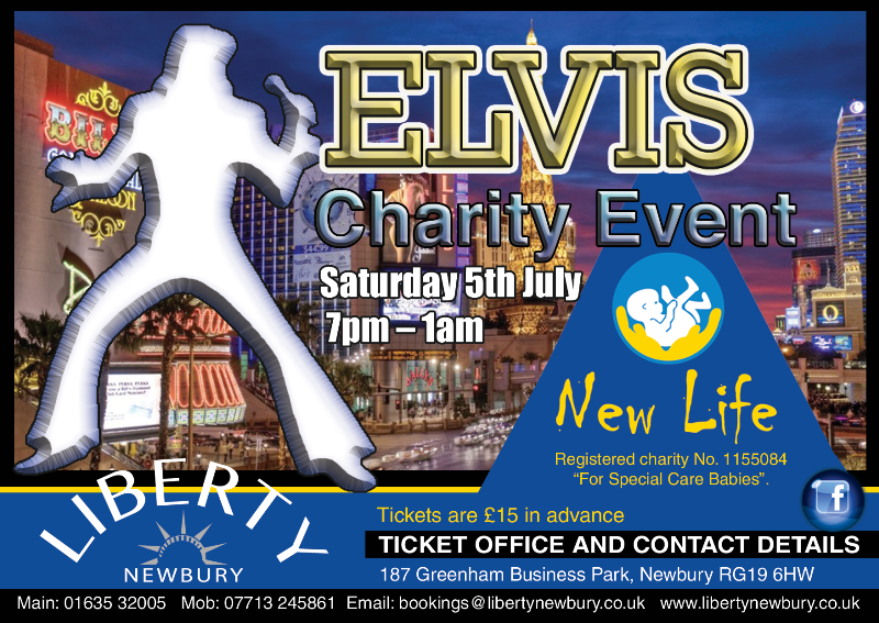 Elvis Las Vegas Night for Charity at LIberty Newbury