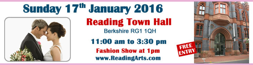 Reading Town Hall Wedding Fair, Dream Wedding Fairs