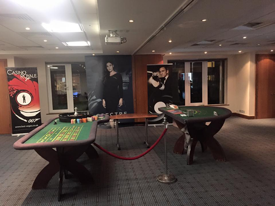 Bond Themed Casino Party at Holiday Inn Guildford