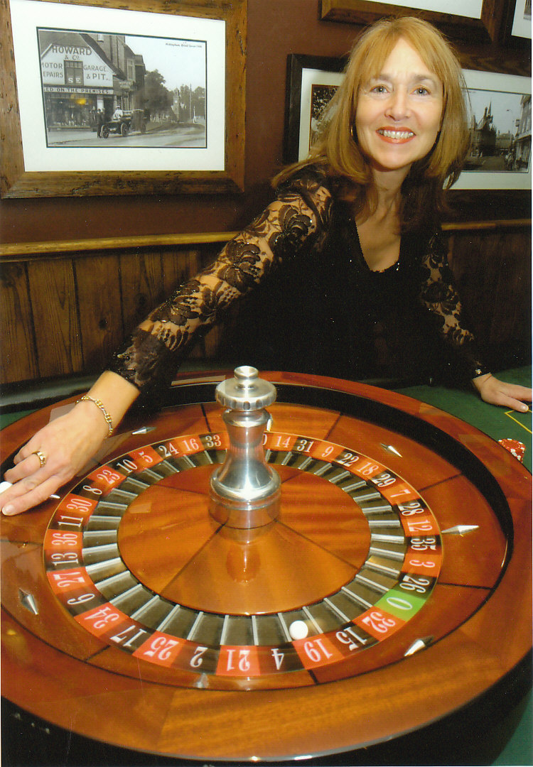 Roulette wheel at a Lost Vegas event