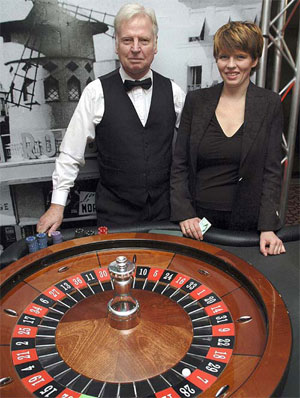 The owners of Lost Vegas Casino Hire